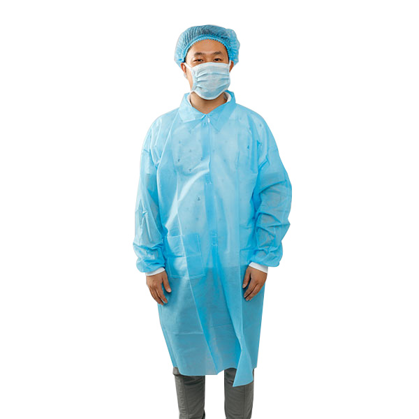 PP DISPOSABLE LAB COATS